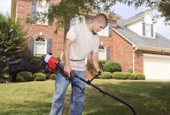 Weed whackers are ideal tools for cutting grass in difficult areas.