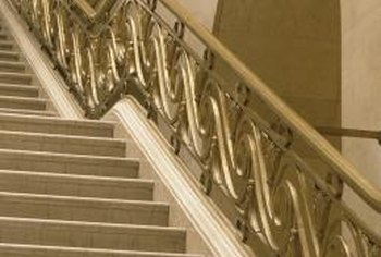 A marble staircase is often more elegant than practical.