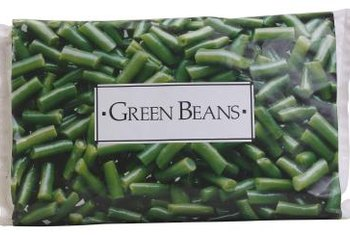 Blanching and freezing is an easy way to preserve the heavy crop of bush beans.