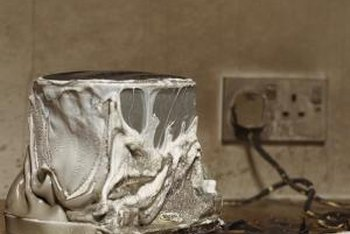 Neglecting to repair faulty wiring can lead to a house fire.