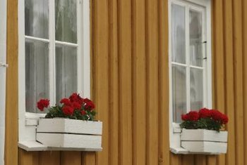 Window boxes add excellent curb appeal to any home.