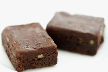 Whey protein can be added to baked goods such as brownies.