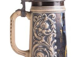 German beer steins were often salt glazed.