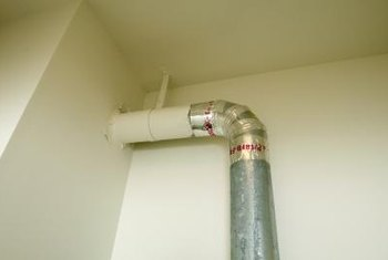 The most common way to use flex duct is joining straight duct work to vent pipes.