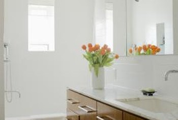 Bathroom sinks come in a variety of styles, both in-cabinet and stand-alone.