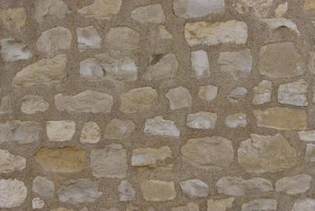 Mortar joint maintenance keeps a stone wall in top condition.