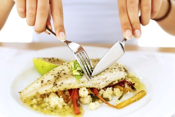 Pescetarians eat fish as a protein source.
