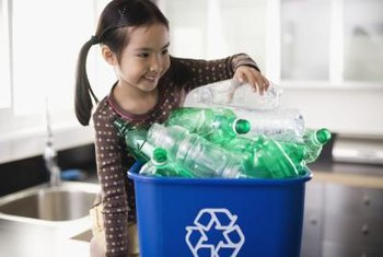 Recycling reduces the need for landfills and incinerators, both of which generate greenhouse gases.