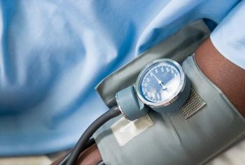 High blood pressure is treated with potassium-sparing diuretics.