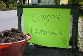 Compost and lemonade are both easy to make; compost just takes a little longer.