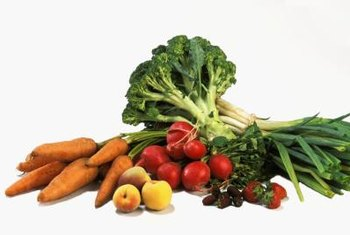 Dietary fiber is found in fruits and vegetables.