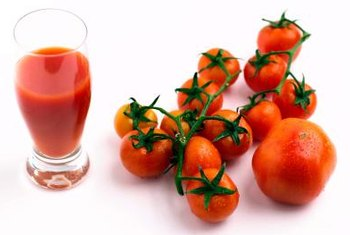 Benefit your immune system by drinking tomato juice.