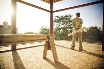 OSB is a less expensive alternative to plywood.