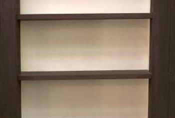 Shelving materials can vary in cost and strength.