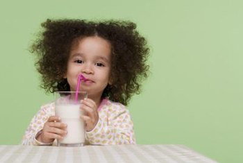 Milk is a low acidity drink your toddler can enjoy.