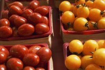 Grow several colors of cherry tomatoes to brighten your garden and your table.