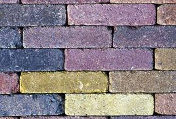 Bricks are available in many colors from which to choose.