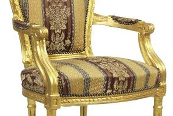 The Louis XV chair originated in France.