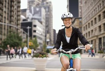 Walking or bicycling for your daily errands reduces vehicle emissions.