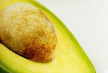 If an avocado's inner seed looks frosty when halved, you're seeing the endocarp.