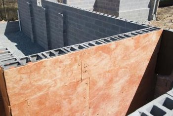 Nice Concrete Blocks Used In Building Construction Are Lightweight And Even  Fireproof.