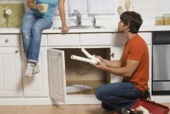 You can retrofit your plumbing for a dishwasher without calling a plumber.