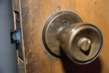 Change a handle to upgrade the appearance of door hardware.