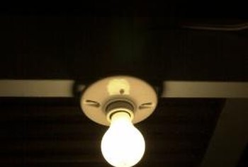 Spruce up your home by changing that old ceramic light socket.