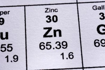 Zinc sulfate, ZnSO₄, is a compound made of zinc, sulfur and oxygen.