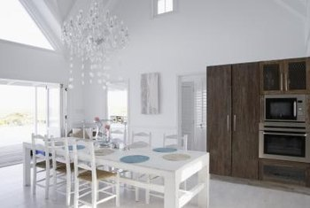 Separate Vs Open Dining Room Spaces Have An Airy Spacious Feel