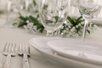 Make a statement with a beautiful table setting that shines.