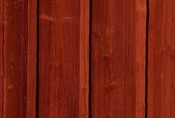 Cedar is typically finished with a natural look to preserve the color and grain.