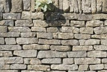 Stone walls, when properly build, are durable and simple to repair.