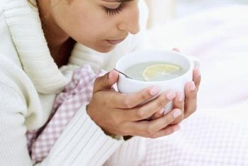 Clear soups may help settle your upset stomach.
