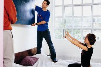 The right-size painting is proportional to your wall and surrounding furniture or fixtures.