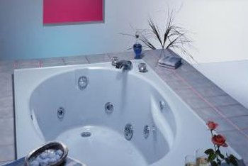 Tiled tub decks are one of the most durable you can build for your home.