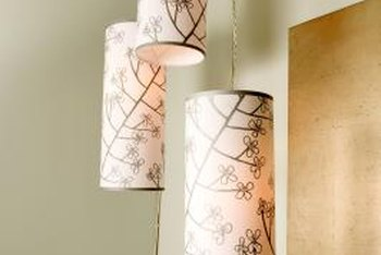 Pendant lights can be used in any room, including hallways.
