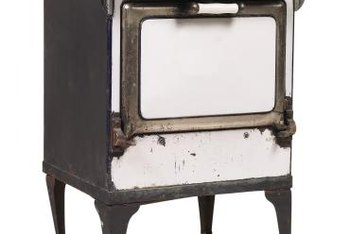 Oven porcelain restoration in antiques will keep a valuable oven cooking.