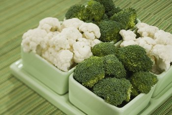 Cauliflower and broccoli may be irritating to sensitive folks.