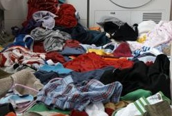 To prevent floods from occurring, avoid over-stuffing the washer with laundry.