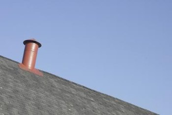 Prevent water leaks around HVAC flues with proper shingling.