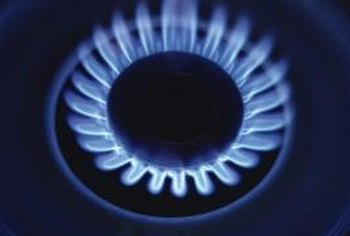 Gas stoves have one or more fuel jets that need to be kept clean for optimal performance.