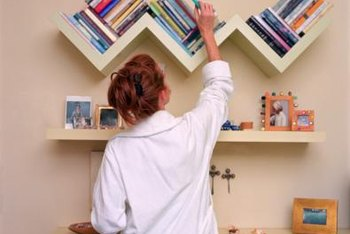Think outside the box when displaying your child's books.