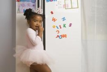 Use magnetic photo frames as a tidier way to organize fridge door keepsakes.