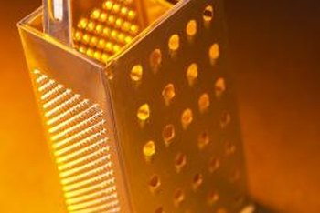 Turn an old-fashioned cheese grater into modern lighting for your home.
