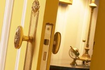 antique doorknobs can start to slip over time
