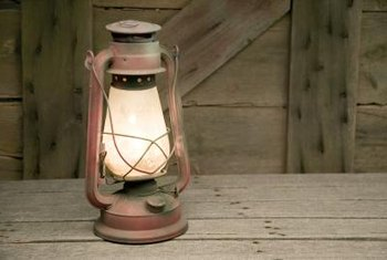 Oil lamps are still used in off-grid homes as well as during power outages in modern houses.