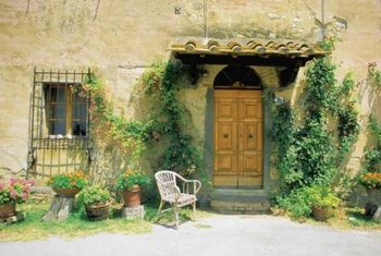 You can replicate the look of a Tuscany cottage inside your home.