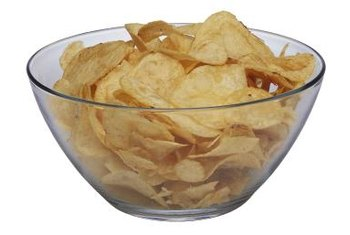 Potato chips contain less beneficial vitamin A, and more harmful sodium, than plantain chips.