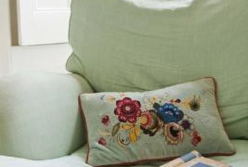 Restore the elasticity of old, worn cushions by replacing their foam.